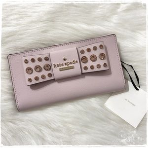 NWT! Kate Spade Davies Mews Stacy Wallet - Pink